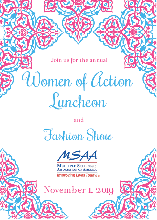 Women of Action 2019 Invite